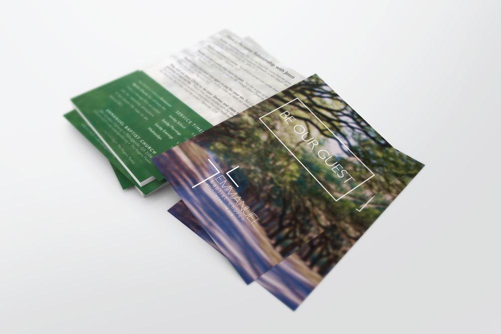 Invite Card – Magnolia Trees