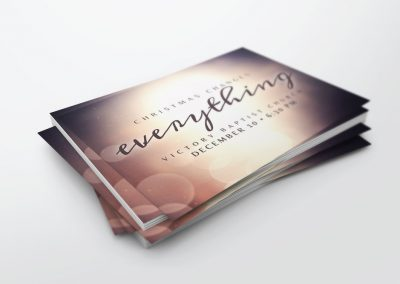 Invite Card – Christmas Changes Everything